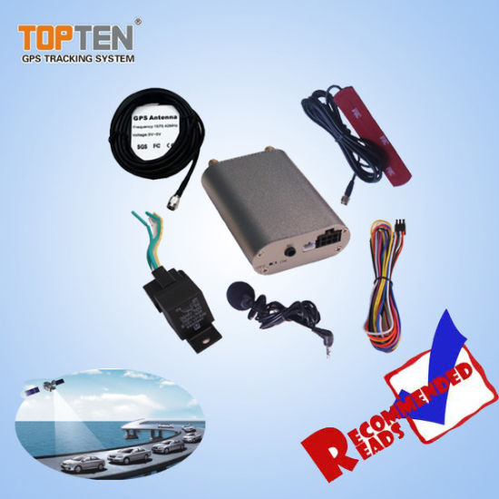 Car Alarm GPS GSM Tracking Fleet Management with Monitor Voice Tk108-Ez pictures & photos