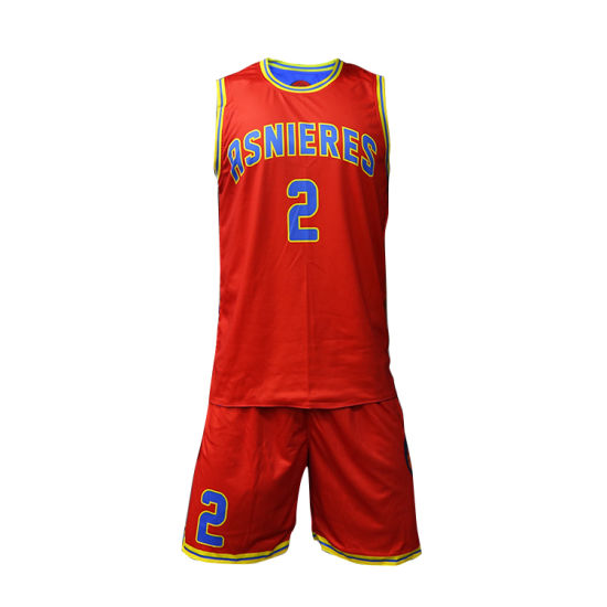 44fef3a8f Healong 2018 Latest Clothing Sublimation Printing Custom Men′s Basketball  Uniform pictures   photos