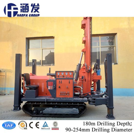 Deep Portable Small Water Well Drilling Rigs for Sale pictures & photos
