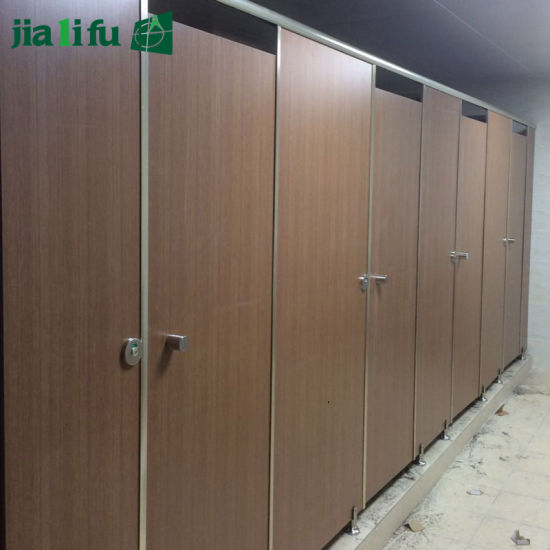 Jialifu High Quality Cheap HPL Toilet Partitions pictures & photos