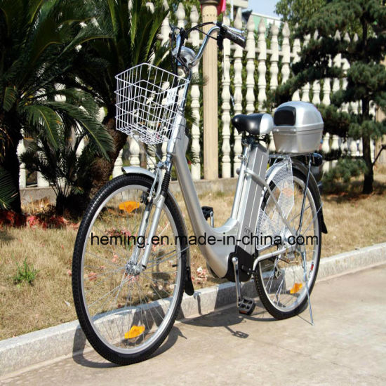 Ce Hot Sale High Speed Lead Acid Electric Bicycle pictures & photos