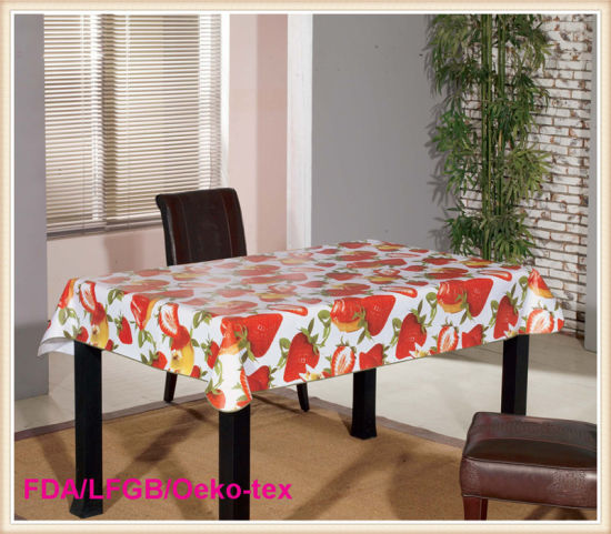Pvc Tablecloth Overlay For Party Banquet Coffee Table Use Pictures Photos