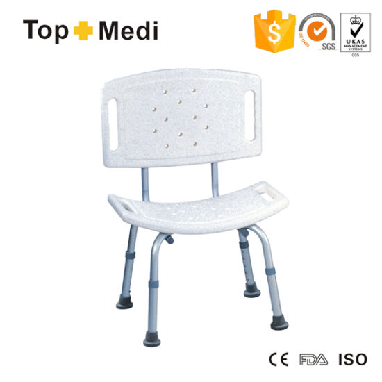 China U Shape Height Adjustable Shower Chair for Older People ...