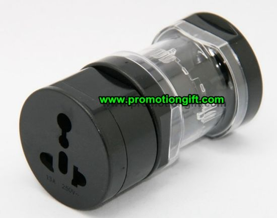 Universal World USB Travel Plug Adapter pictures & photos