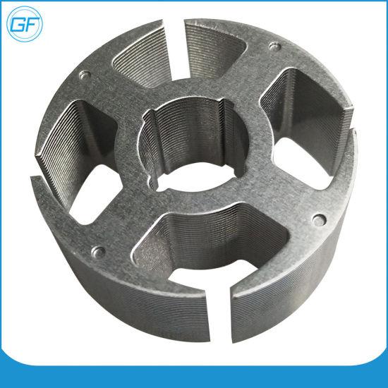 Cooling Fan Motor Silicon Steel Sheet. Fan Motor Stator Core