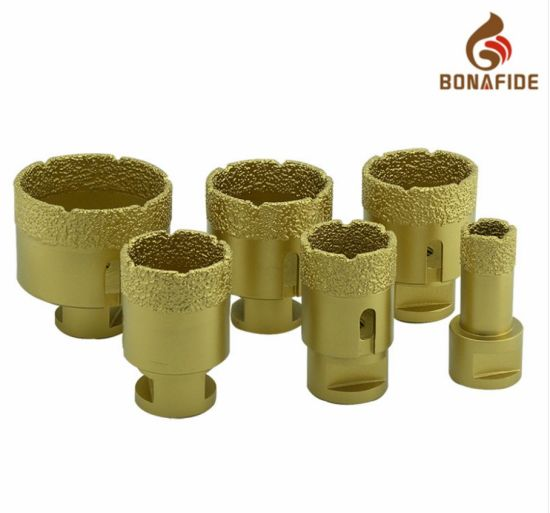 Diamond Tools Good Quality Vacuum Brazed Diamond Core Drill