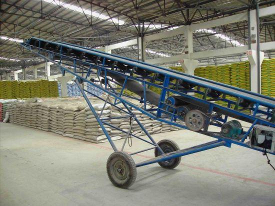 Adjustable Mobile Portable Belt/Band Conveyor Machine for Grain/Soil