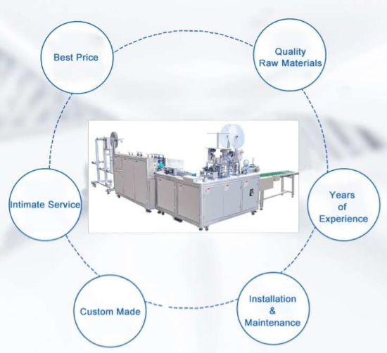 Fully Automatic Disposable Mask Making Machine Surgical Mask Making Machine