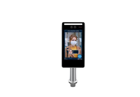 7 Inch Binocular Living Face Recognition Access Control Terminal IP Camera