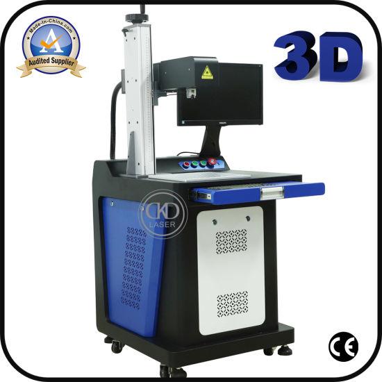 Automatically Focusing Fiber Laser Marking Machine 3D