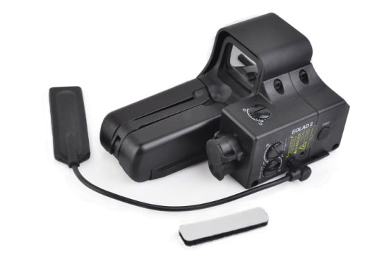 Element Airsoft Military Tactical Laser Scope Ex187 Eolad 2 Laser Type 552 Sight Red and Green Dots for Rifle Hunting