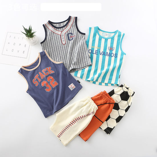 Children's Clothing Suits Football Style Clothes Fashion Clothes Baby Clothes