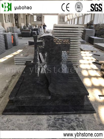 European Tombstone/ High Quality Chinese Granite Headstone, /Tombstone for Funeral Tomb