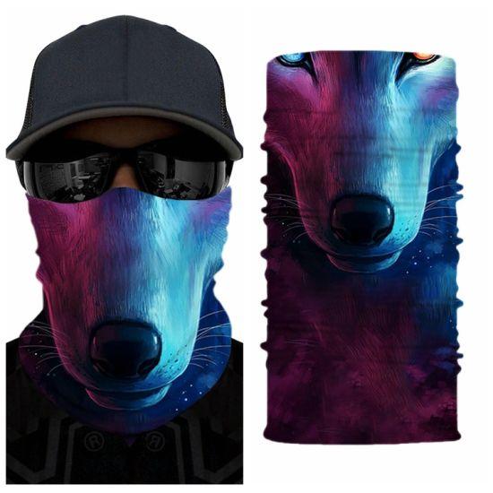 Magic Headwear Chinese Character Outdoor Scarf Headbands Bandana Mask Neck Gaiter Head Wrap Mask Sweatband