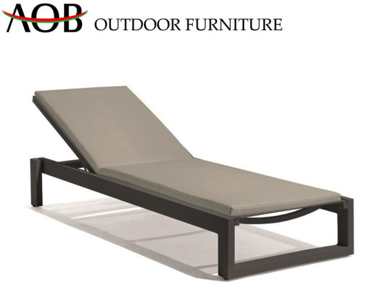 Modern Outdoor Garden Home Furniture Terrace Chaise Lounge Set Poolisde Deck Chair Sun Lounger Daybed Sunbed pictures & photos