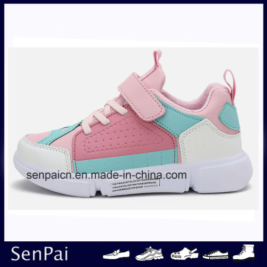 Popular Children Winter Cheap Sport Sneaker Shoes pictures & photos