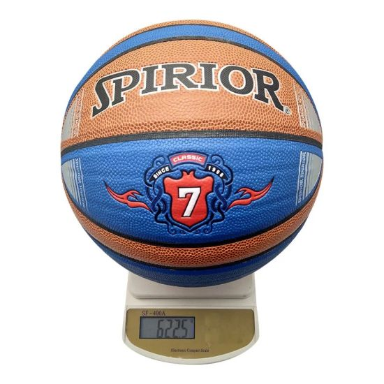 High Quality Waterproof Wear - Resistant 7# PU Rubber Sport Basketball pictures & photos