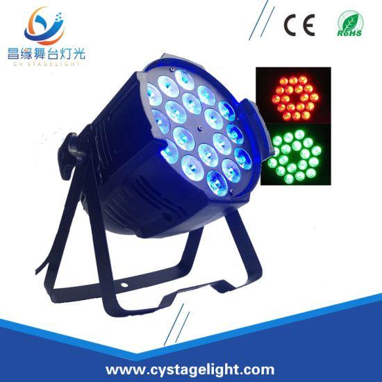 18X8w RGBW 4in1 LED Multi Color Indoor PAR Can Light