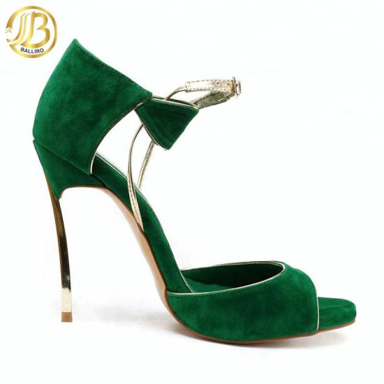 green peeptoe booties for fall | HIGH HEELS in 2019 | Shoe