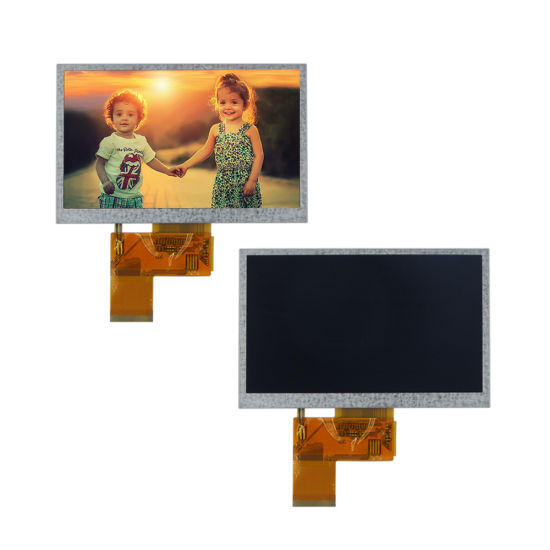 Sunlight Readable 480X272 RGB 24-Bit Serial Screen 40-Pin Color LCD Touch Module 5 Inch TFT LCD Panel
