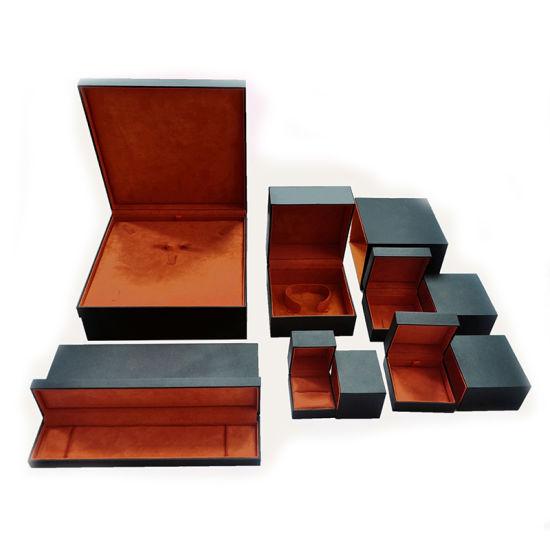 China Luxury Cardboard Jewelry Box With Ribbon Jewelry Boxes Custom