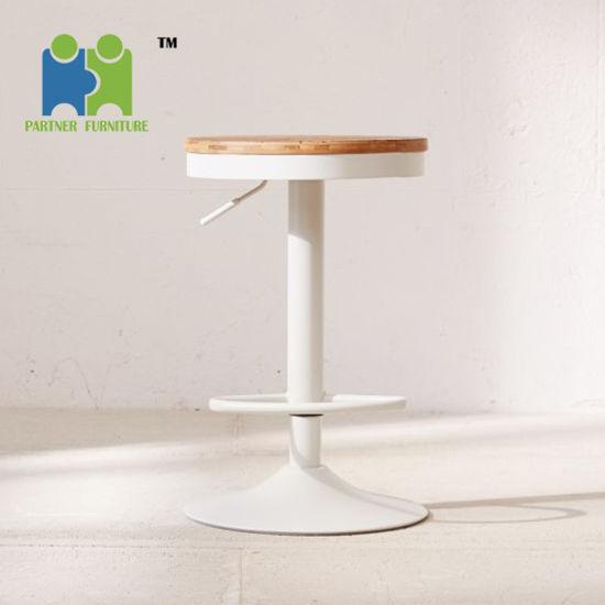 Remarkable Goose Counter Height Adjustable Swivel Elm Wood Seat Bar Stool Evergreenethics Interior Chair Design Evergreenethicsorg