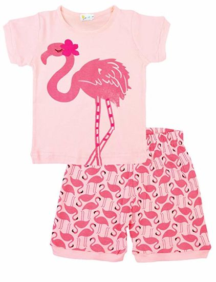 Pajamas for Girls Little Kid Short Sets 100% Cotton Clothes pictures & photos