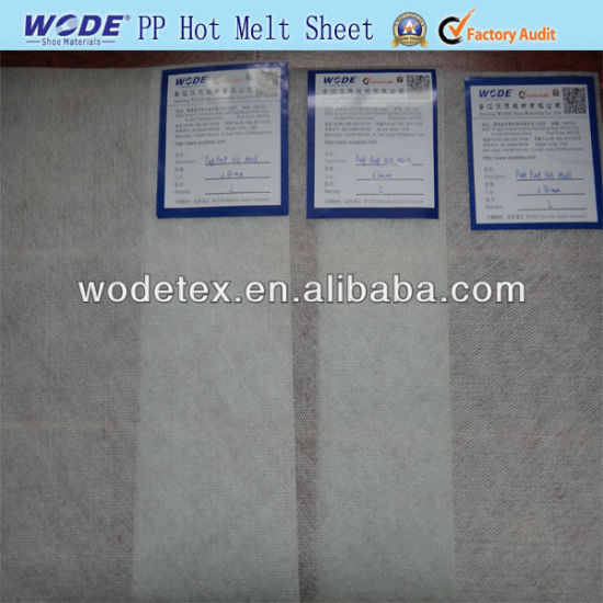 Wodetex Ping Pong Hot Melt Sheet with Good Glue for Insole