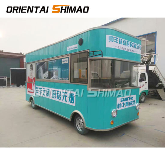 New Coming High Quality Custom Towable Kitchen Street Fast Food Bus