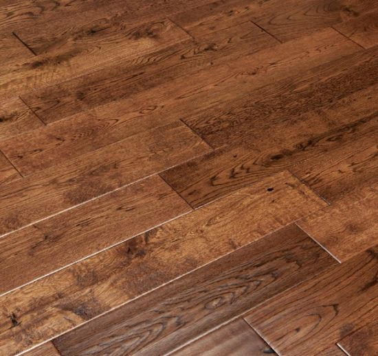 China Hand Sed Mocha Oak Hardwood, Mocha Oak Laminate Flooring