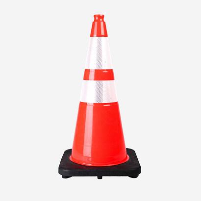 S-1284 PVC Mutcd Standard Safety Traffic Cones for American Market