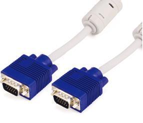 1m/3m/5m/10m/20m/30m VGA HD15m to HD15f Monitor Extension Cable with Ferrite Core