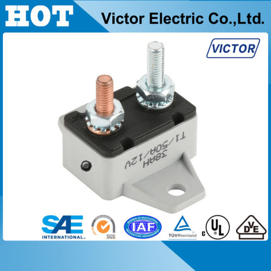 Stud Type Automatic Circuit Breaker for EV, Battery Protector E537