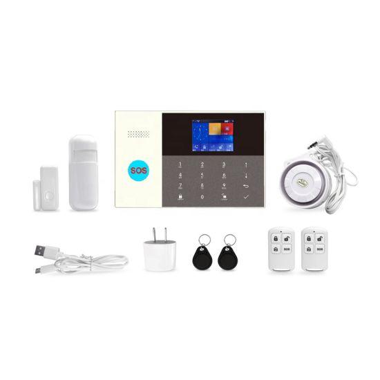 Home Alarm WiFi &GSM/3G&GPRS Alarm System Wireless Burglar Alarm System