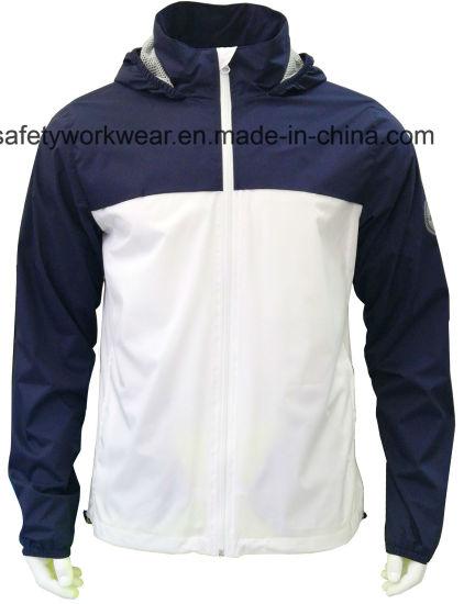 Men Outerwear Hooded Waterproof Light Weight Jacket