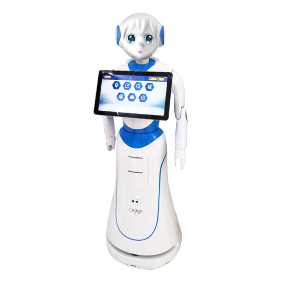 Smart Reception Greeting Robot Intelligent Service Robot for Hotel Airport