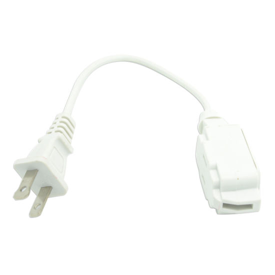 China Ul Approved Us 2 Pins 10a 125v Power Extension Cord Factory