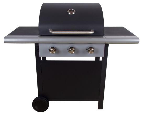 Three Burners Gas BBQ Grill with Ce, LFGB