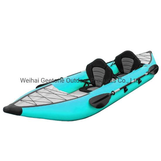 Reinforced PVC Drop Stitch Floor Inflatable Kayak