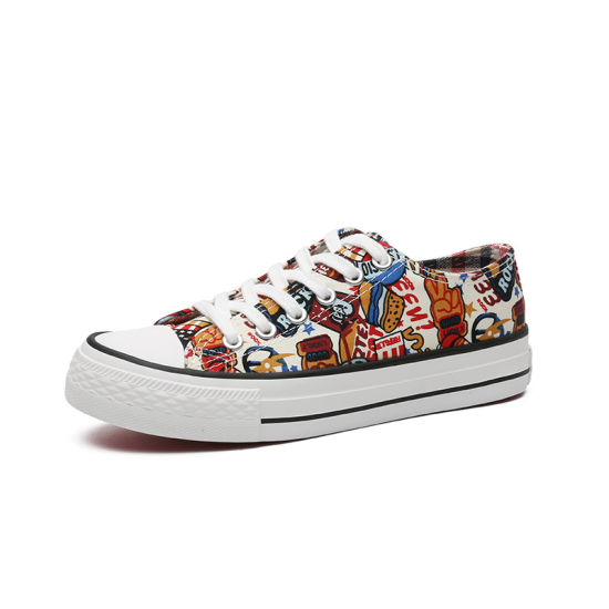 New Style Lightweight Women Skateboard Fashion Casual Canvas Shoes (DC20-037)