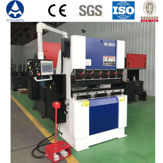 China Manufacturer CNC Metal Steel Stainless Plate Bending Machine, Hydraulic Reliable Under-Drive Press Brake