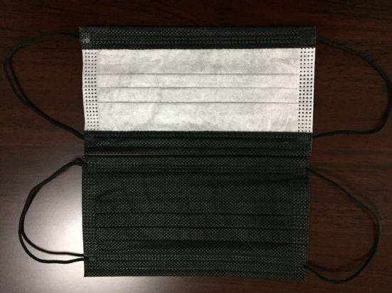 Protective Face Shield Mask Disposable Non Woven 3ply Face Mask