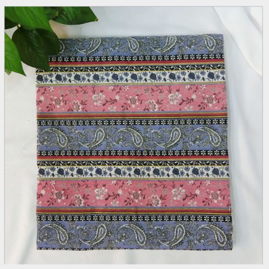 China Wave Stripe Design Jacquard 100% Polyester Upholstery ...