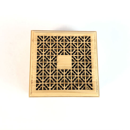 Wholesale Hardcover Wood Bamboo Stick Holder Inserted Wooden Incense Burner Box