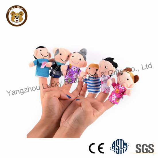 OEM Cartoon Character Dolls Finger Puppet