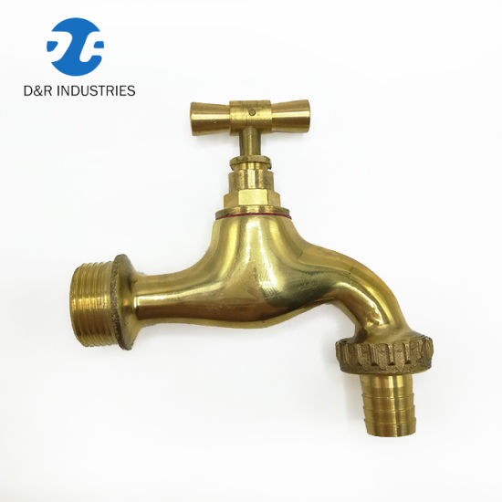 High Quality Antique Brass Bibcock Outdoor Faucet Garden Tap for Washing