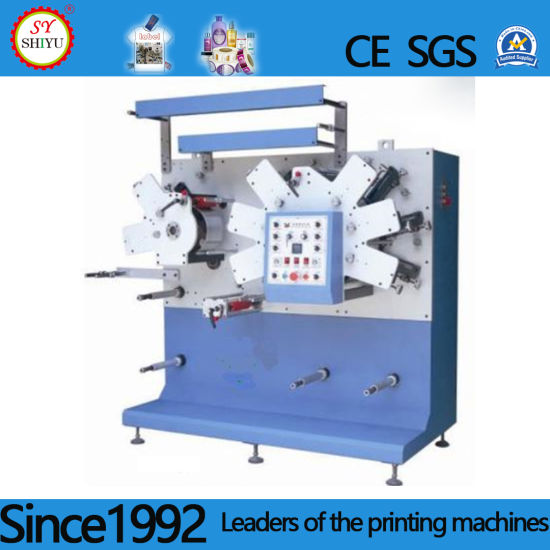 Full Automatic Colors Flexo Textile Clothes Poly Type Fabric Ribbon Label Printing Machines