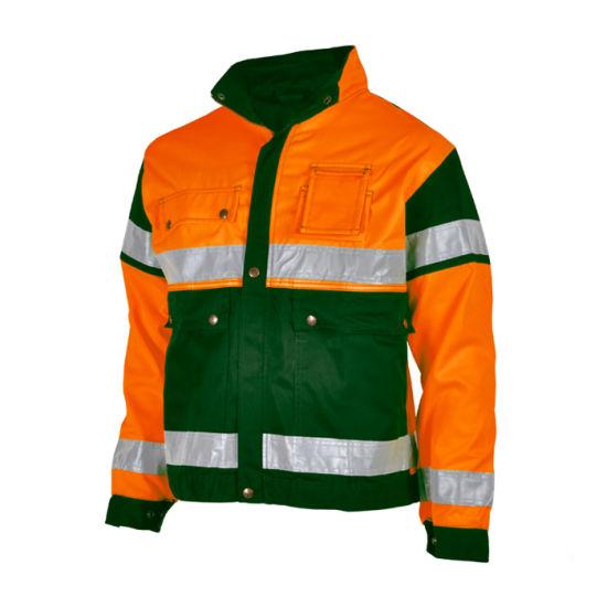 Long Sleeve Industry Workwear Oil Field Work Jacket