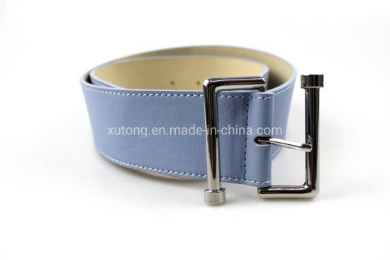 Wide Belt with Metal Buckle for Pans Dress Ladies Fashion Accessories pictures & photos