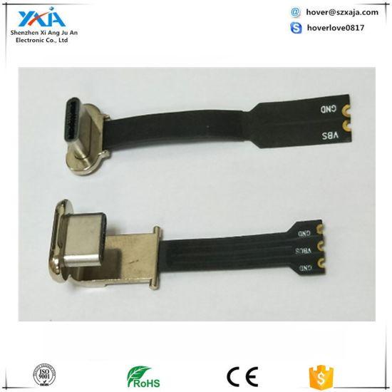 Xaja Plastic Micro USB Type C Cable Angle